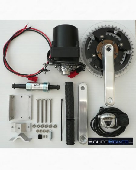 3 Chainwheel 24V 360 Watt Ebike Kit